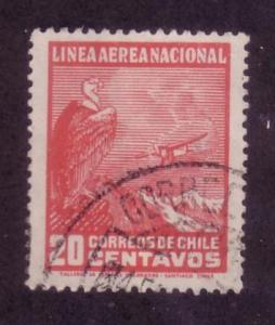 Chile Sc. # C24 Used Airplanes