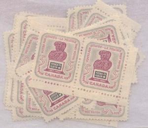 Canada USC#470 Mint (100) Inc. Blocks - 50th Anniv. Women's Suffrage