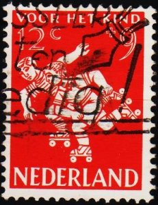 Netherlands. 1958 12c+9c S.G.873 Fine Used