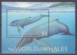 2001 Grenada 4787/B653 Marine fauna / Whales 6,50 €