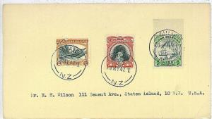 POSTAL HISTORY : COOK ISLANDS -  COVER 1947: BOATS (5)