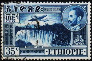 Ethiopia. 1947 35c S.G.380a Fine Used