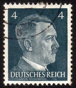 1941, Germany 4pfg, Used, Sc 508