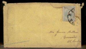 CSA #2 Richmond VA Civil War Confederate Cover 92700