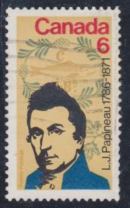 Canada - 1971 6c Papineau Ghost Print Used #539i