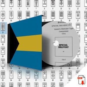 BAHAMAS STAMP ALBUM PAGES 1859-2011 (231 PDF digital pages)