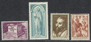 $Greece Sc#535-538 M/NH/VF, complete set, Cv. $218