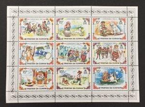 Tristan Da Cunha 1980  #282 S/S, Christmas, MNH.