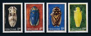 [28428] Faroe Islands 1995 Animals Insects MNH