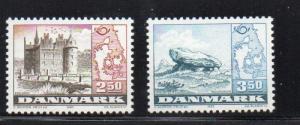 Denmark Sc 735-6 1983 Nordic Cooperation stamp set mint NH