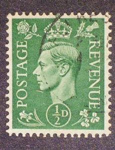 Great Britain Scott #258 used