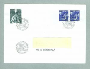Sweden. FDC 1981.  Night And Day.  Engraver Z. Jakus. Addressed.