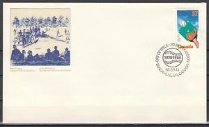Canada, Scott cat. 1221. 1st Baseball Game issue. First day cover. ^