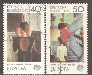 Germany 1164-1165 Used VF