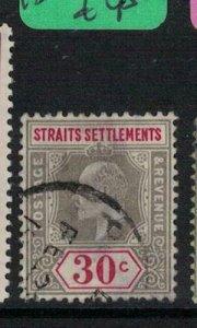 Malaya, Straits Settlements SG 134 VFU (10exc)
