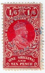 (I.B) Australia - NSW Revenue : Stamp Duty 1/6d (NSW)