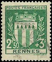 France - B125 - Used - SCV-2.75