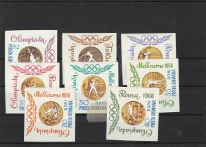 romania mounted mint 1960 stamps ref 16749