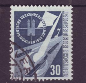 J4183 JLstamps 1953 @20%scv germany used #701 $22.50v RR