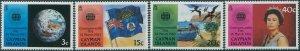Cayman Islands 1983 SG574-577 Commonwealth Day set MNH