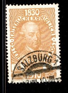 Austria 1910  Scott #132 used (CV 12.00)