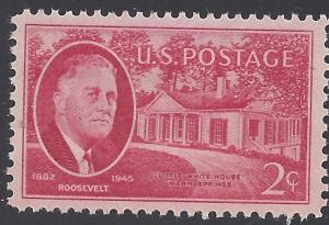 #931 2c Franklin D. Roosevelt Issue 1945 Mint NH