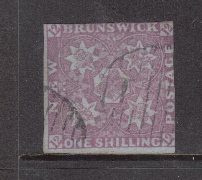 New Brunswick #3 Used With Light Cancel **With Certificate**