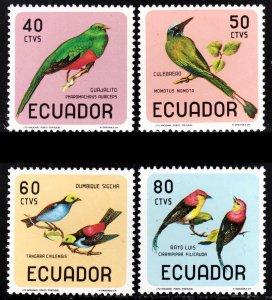 Ecuador Scott 751-51C F to VF mint OG NH.