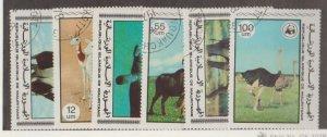 Mauritania Scott #383-388 Stamps - Used Set