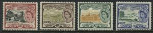 St. Kitts QEII 1954 24 cents to $1.20 mint o.g.