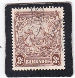 Barbados,  #  197    used