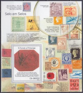 2014 Sao Tome and Principe 5618/B982 Fauna on stamps 10,00 €