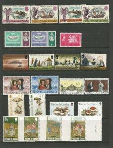 Tristan da Cunha A Selection Of Mounted & Unmounted Mint Sets