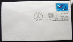 UN #C21 FDC (Non Cacheted) (Pencil Address Erased) L10