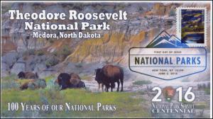 2016, National Parks, Centennial, Theodore Roosevelt, DCP, 16-158