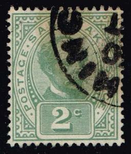 Sarawak #37 Sir Charles Johnson Brooke; Used (1.00)