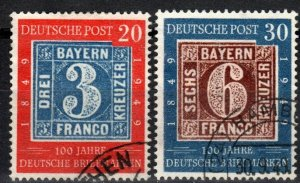 Germany #667-8 F-VF Used CV $86.50 (X2668)