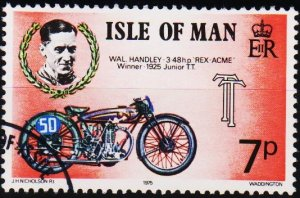 Isle of Man. 1975 7p S.G.64 Fine Used