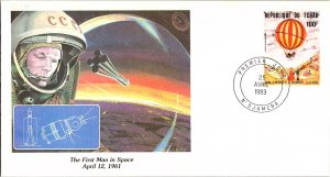 Chad, Worldwide First Day Cover, Space, Balloons