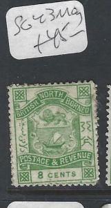 NORTH BORNEO (P2501B)   8C P&R  SG  43   MOG