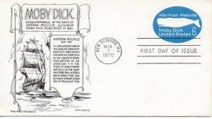 US FDC #U554 Moby Dick, Aristocrat (1532)