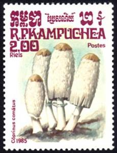Cambodia # 573 mnh ~ 2r Mushrooms