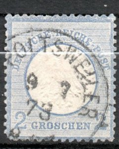 Germany 1872 #5 Mi 5 *USED* - Small Eagle