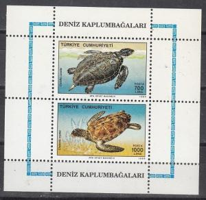 Turkey Scott 2457a Mint NH (Catalog Value $24.00)
