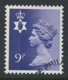 Northern Ireland SG NI26 SC# NIMH12 Used  with first day cancel 9p Machin