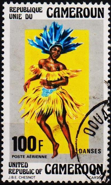 Cameroun. 1976 100f. S.G.772 Fine Used