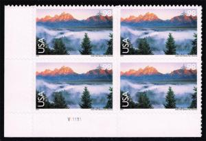 US #C147 Grand Teton National Park P# Block of 4; MNH (8.00)