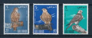 [96532] United Arab Emirates Abu Dhabi 1965 Birds Falcons  MNH