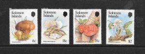 SOLOMON ISLANDS #515-18  FUNGI  MNH