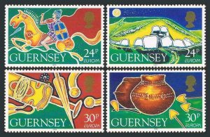 Guernsey 526-529,MNH.Michel 635-638. EUROPE CEPT-1994.Archaeological Discoveries